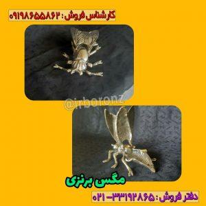 مگس زیر سیگاری برنزی