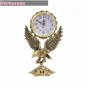 ساعت رومیزی برنزی مدل عقاب